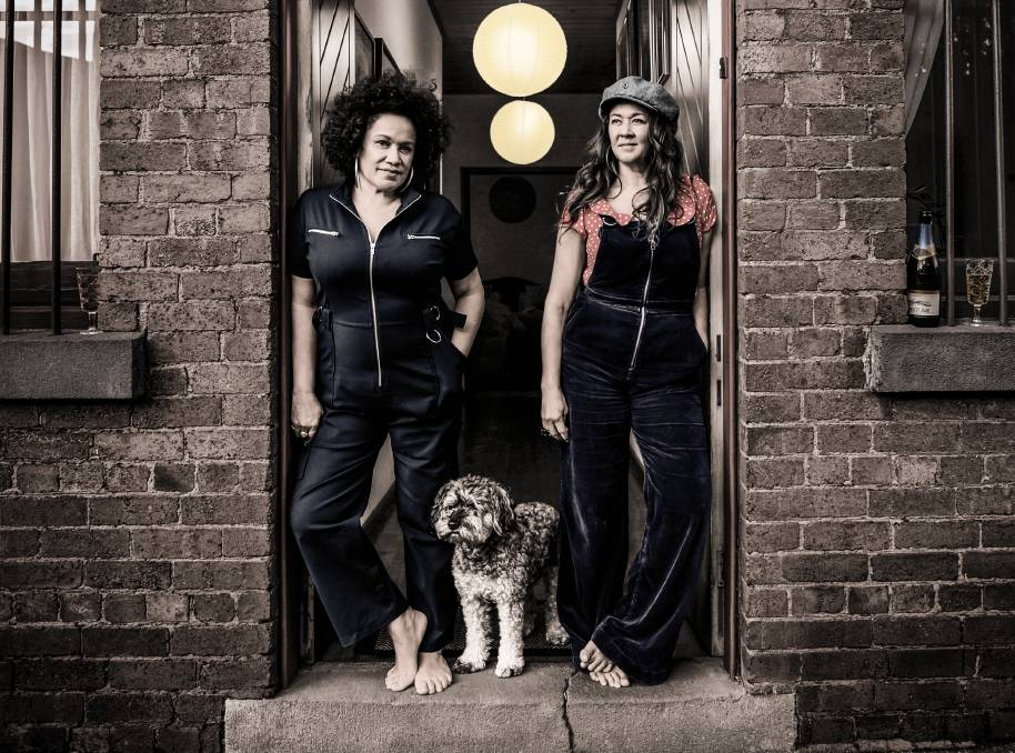 SAVIOUR: Performing gospel songs every Sunday for their social media followers has helped Vika and Linda Bull through the COVID lockdown.