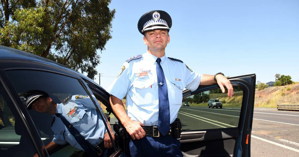 RULE BOOK: Western Region Traffic Tactician Inspector Ben Macfarlane has highlighted some of the road rules motorists might have missed. Photo: BELINDA SOOLE