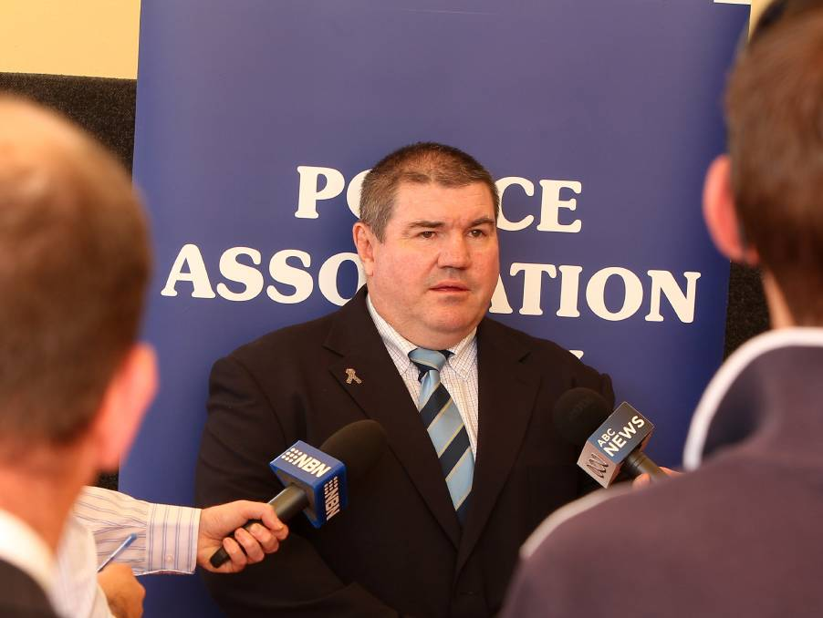 Incoming Police Association of NSW president Tony King has welcomed $4 billion in additional government funding for police but said it needed to be allocated properly. Photo: PHIL HEARNE