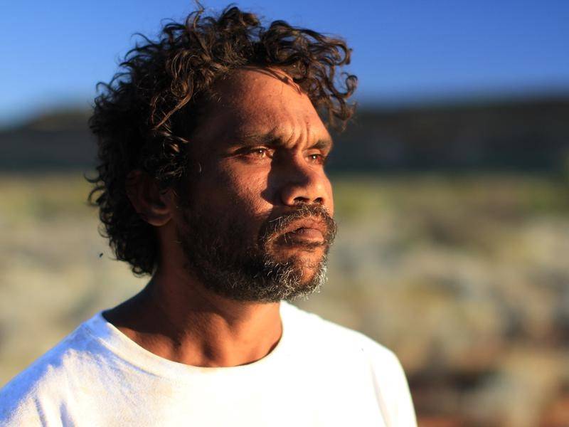 Painter Vincent Namatjira has been honoured for his service to Indigenous visual art.