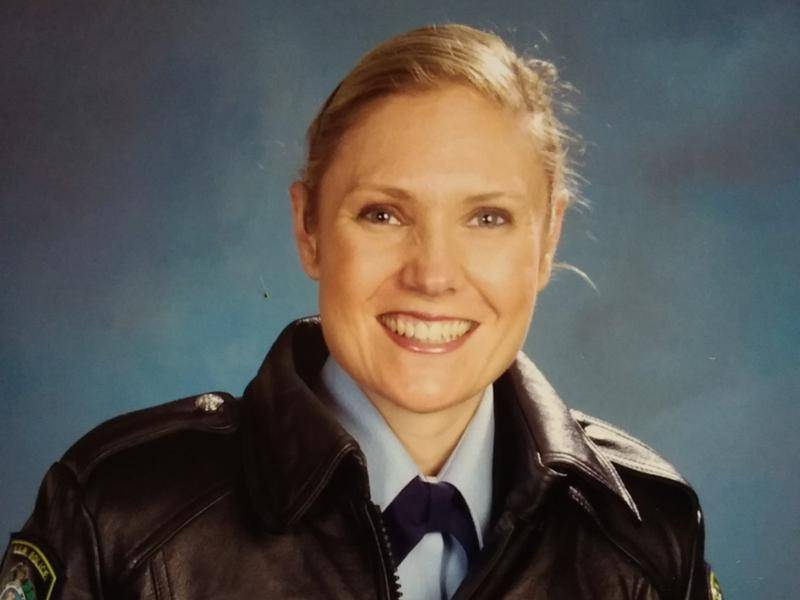 Snr Senior Constable Kelly Foster drowned trying to save another woman in a whirlpool.
