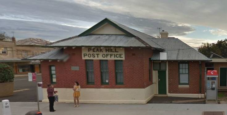 FOR SALE: The post office in Peak Hill is up for sale. Photo: COMMERCIAL REAL ESTATE