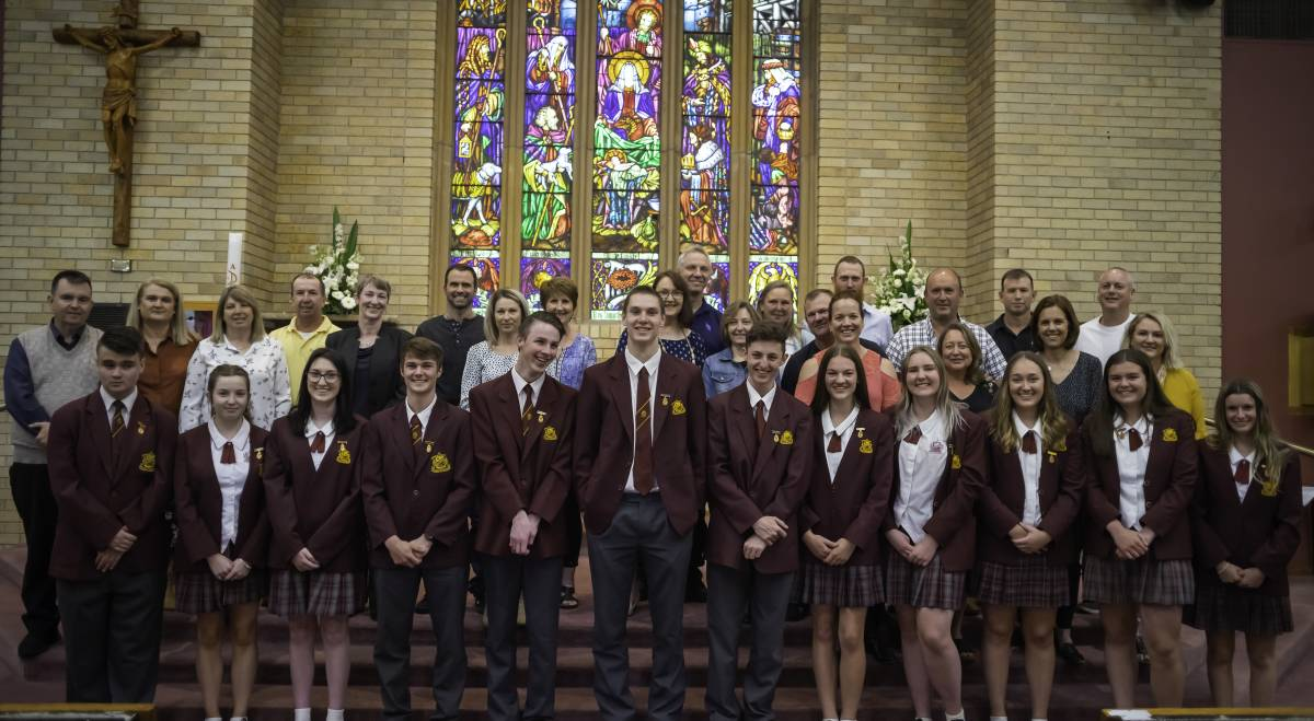 2021 CAPTAINS: James Pyne, Grace Glendinning, Darcie Rushworth, Will Commins (captain), Caleb Fardell, Dominic Della Bosca, Jordan Bray, Alex Wiles, Mika Colbert, Abbey Dean, Elisa Marshall (captain) and Olivia Corney. Photo: SUPPLIED.