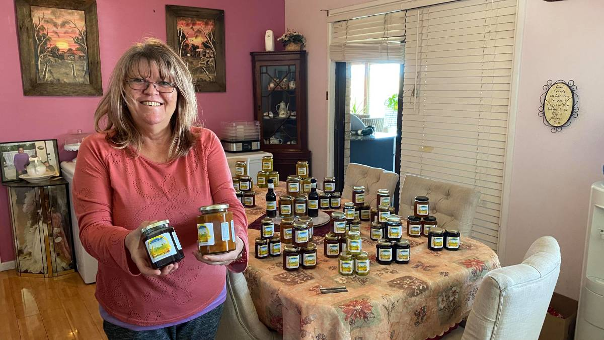 A LOT OF MORE GOODNESS: Lotamore Farm Harvest owner Suzanne Coleman loves to make old fashioned delicious products. Photo: ALANNA TOMAZIN.